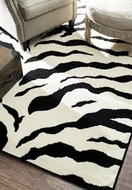 animal print area rugs with black and white zebra print rug buethe