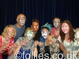 face paint training