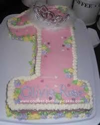 Coolest Babys 1st Birthday Princess Cake