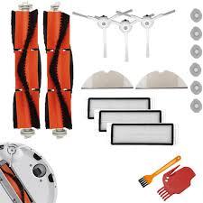Bộ lọc + bàn chải cho máy hút bụi xiaomi 1 1s xiaowa e2 e3 e4 xiaomi  roborock robot mop towel s5 s52 s53 - Sắp xếp theo liên quan sản phẩm