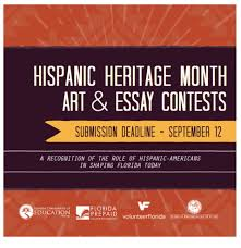 hispanic heritage month art and essay contests deadline  hispanic heritage month art and essay contests deadline 12 st lucie public schools