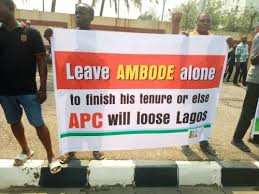 Image result for Ambode's plan impeachment