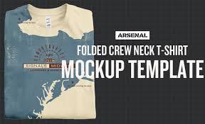 mockup t shirt folded shirt mockup template