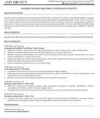 Hr Resume Examples Generalist