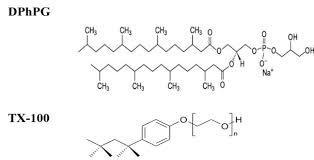 molecular structure of lipid dphpg