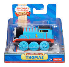 fisher wooden railway battery operated thomas engine wood canada