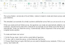 Hotel Survey Questions Customer Satisfaction Template Excel ...