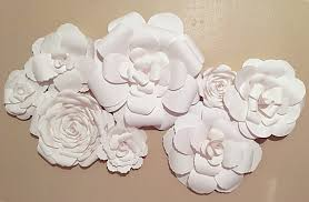 Wall Decoration Paper Design Marvelous Design Flower Wall Decor Paper Flowers Wedding Home Wall 86