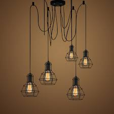 modern industrial lighting fixtures. Vintage Industrial Pendant Lamp Loft Style Lights Kitchen Dining Throughout Lighting Inspirations 4 Modern Fixtures A