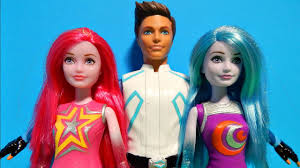 Barbie Star Light Adventure Sprite Doll Barbie Galactic Star Light Adventure Dolls Prince Galaxy Twins Unboxing Toy Review