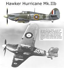 An Ii B B Hawker Hurricane Mkiib Wwii Aircraft Profiles Pictures