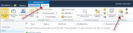 Form Library Sharepoint 2010 How To Delete A Document Library In Sharepoint 2010 Aryan Nava