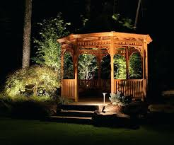 cheap outdoor lighting ideas. Gazebo Lighting Ideas Cheap Outdoor Light  Hanging Pole Fence Front . S