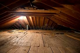 attic in house. download dark old dirty musty attic space in house or home royalty free stock photography