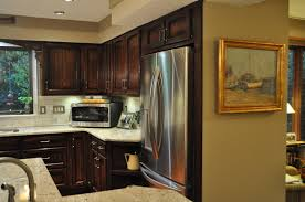 Over The Fridge Cabinet Kitchen Without Upper Cabinets Above Fridge Home Ideas 2016