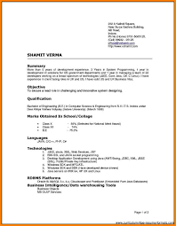 Different Resume Types Eliolera Com