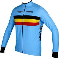 Belgium 2019 Long Sleeve Jersey National Cycling Team
