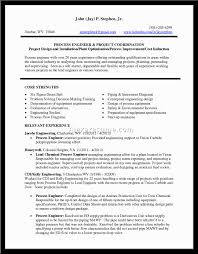 Chemical Process Engineeresume Examples Download Fresher Cv Format