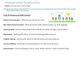 who recommended life skills empathy amp interpersonal relationship 6 interpersonal relationship interpersonal