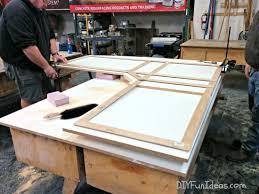 diy concrete countertops form building