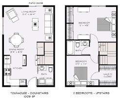 67 Best Townhouseduplex Plans Images On Pinterest  Architecture Townhomes Floor Plans