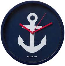 full image for amazing anchor wall clock 141 large anchor wall clock anchor wall clock