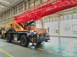 Sany Rough Terrain Crane Src250c 25t Sany Crane Pins