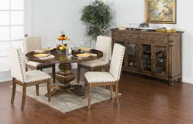 Sunny Designs Furniture Cornerstone Round Dining Room Set Sunny Designs Furniture