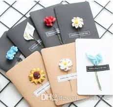 Dried Flower Greeting Card Creative Diy Kraft Paper Handmade