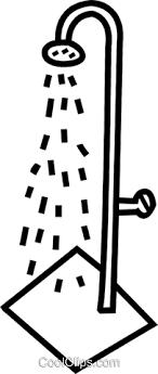 shower head clip art. Shower Head Royalty Free Vector Clip Art Illustration B