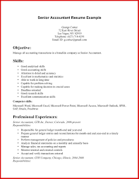 Importance Of A Resume Skills For Accountant Resume Importance Of