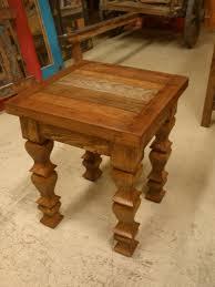 furniture repurposed. reclaimed wood rustic end table18 x 18 22 inwesternvintage furniture repurposed