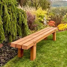 easy timber bench
