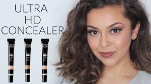 makeup forever ultra hd concealer review demo trinaduhra
