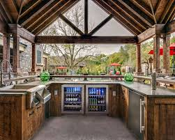 outside kitchen designs lovely outdoor kitchen designs with smoker design of outdoor entertaining ideas