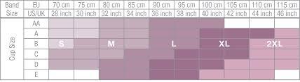 Zipper Size Chart Carefix Anna Sleep Zipper Bra 327050 Breakout Bras