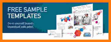 Ms Word Brochure Templates Free Download Maths Equinetherapies Co