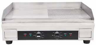 24 half ribbed electric griddle 3 6 kw electric countertop griddles zanduco ca
