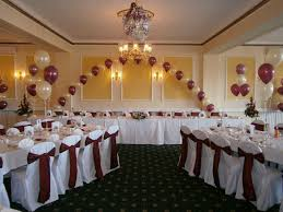 Decorating With Balloons Wedding Reception Decor With Balloons Weitzelart