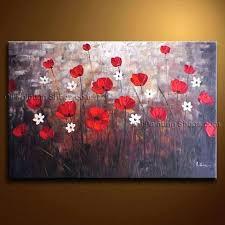 red poppies wall art poppy canvas wall art lovely top metal poppy wall art red poppies