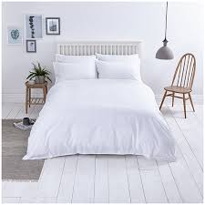 close image for sainsbury s home washed cotton bed linen white from sainsbury s
