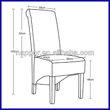 scroll high back solid wood pu leather dining chair images standard dining chair height