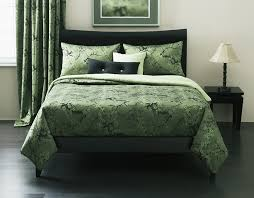 cherry blossom green queen 6 pc bedding collection other sizes available