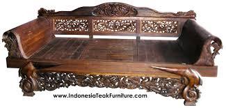 Teak Wood Daybeds Bali Indonesia Furniture
