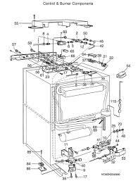 laurelhurst distributors parts breakdown dometic refrigerators at dometic rv fridge wiring diagram at Dometic Refrigerator Wiring Diagram