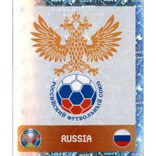 Finnland und russland mit drei punkten ins gruppenfinale. Panini Em 2020 Tournament 2021 Sticker 210 Logo Russland 0 79