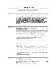 Teacher Resume Example Writing Teacher Resume With Resume Writing