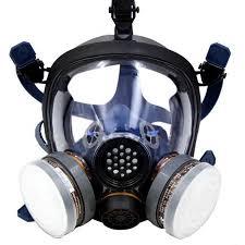 Holulo Organic Vapor Full Face Respirator Respiratory Protection Gas Masks