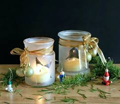 Decorating Candle Jars Decorate Jars Candles Frosted Candle Jar Luminaries Via Decorating 16