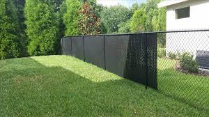 slats black vinyl chain link fence slats for chain link fence privacy with vinyl google search